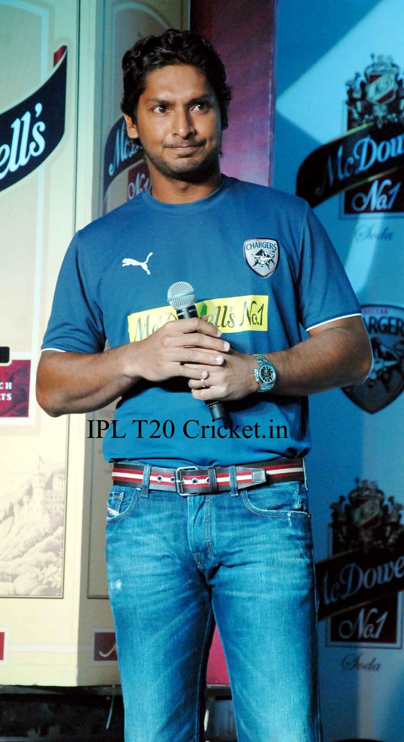 Deccan chargers captain Kumara Sangakkara