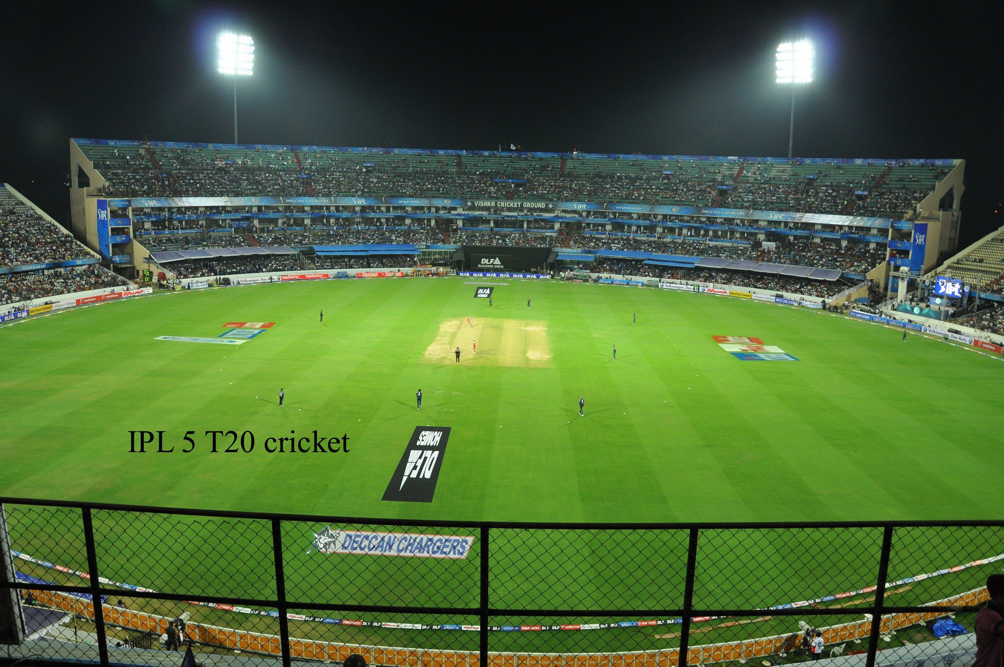IPL T20 Cricket tournament